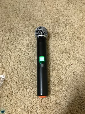 Wireless mic only mic no receiver for studio for Sale in Stockton, CA
