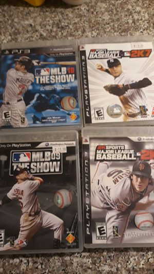 Ps3 baseball games for Sale in Los Angeles, CA