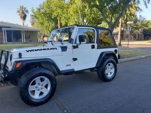 2001 Jeep wrangler for Sale in Fresno, CA