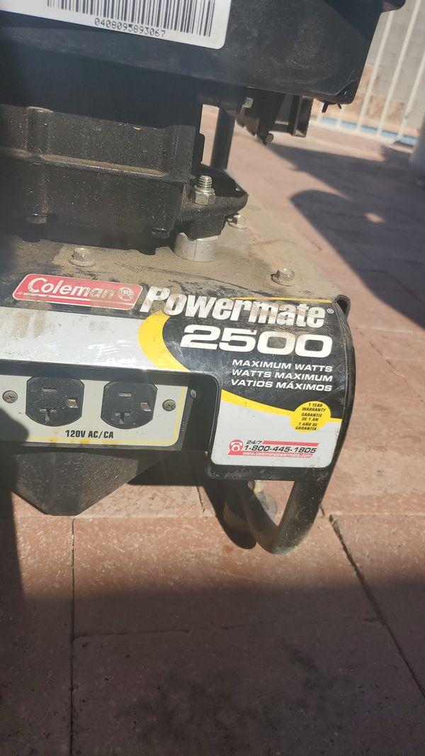 Generator Coleman powermate 2500 watts