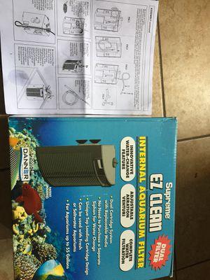 Aquarium filter danner supreme ez internal filter for Sale in Long Beach, CA