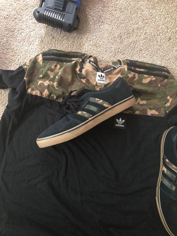 Adidas w/ Matching Tee