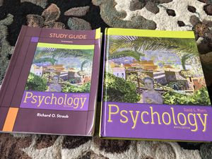 Psychology & Study Guide Work Book for Sale in Kent, WA