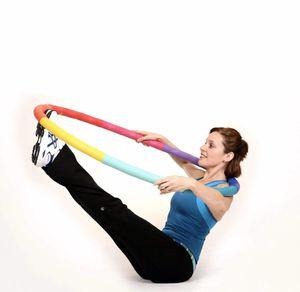 Sports Hoop Weight Loss Series: ACU Hoop Medium, Weighted Fitness Exercise Hula Hoop for Sale in San Pedro, CA