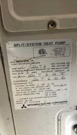 Mitsubishi electric for Sale in Durham, NC