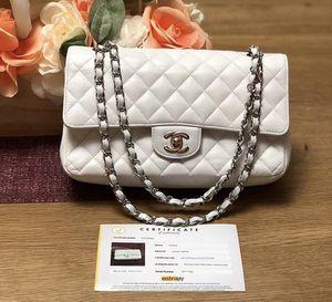 Authentic Chanel Caviar in White for Sale in Washington, VA