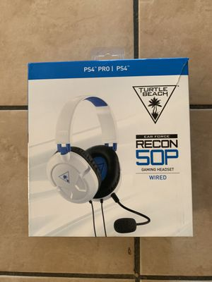 Turtle Beach headset PS4 for Sale in Paramount, CA
