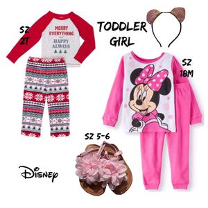 Final Clearance NWT Mix/March Toddler Girl 7PC Set for Sale in WDM, IA