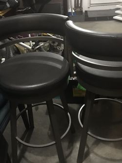 2 Bar Height Swivel Barstools for Sale in North Bend,  WA