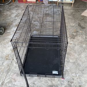 Metal Dog Crate 24.5X22.5X36 for Sale in Hudson, FL