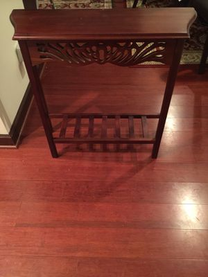 Console Table/ Real wood for Sale in Washington, DC