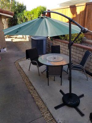 Retractable Offset Patio Umbrella for Sale in Chula Vista, CA