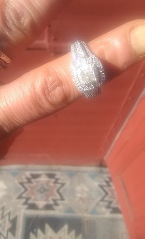 .5 14 caret white gold princess cut engagement ring for Sale in Lakewood, CO
