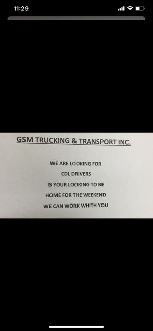 CDL DRIVER NEEDED for local and regional home on the weekend for Sale in Bensenville, IL