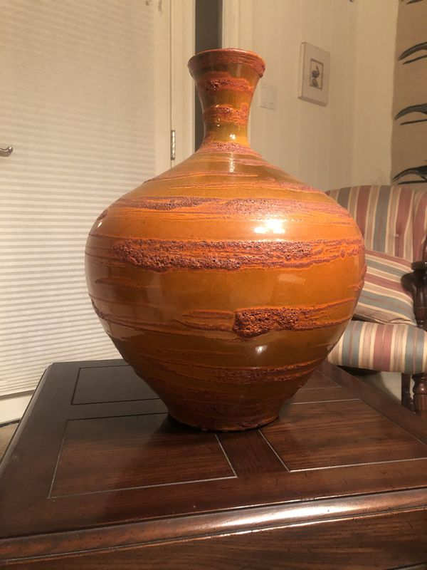 Vase - large decorative pottery inside or out.