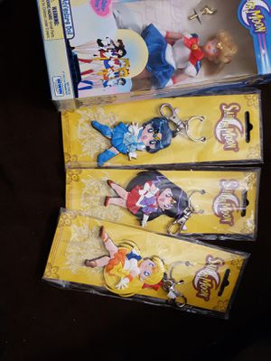 Sailor Moon doll and Key Ring Scouts for Sale in Phillips Ranch, CA