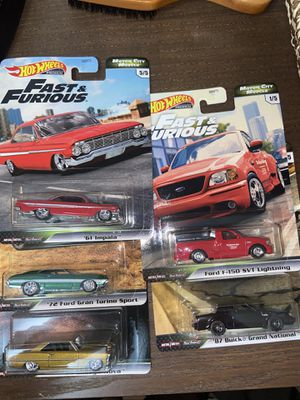 Hot wheels Fast and furious *Set for Sale in Long Beach, CA