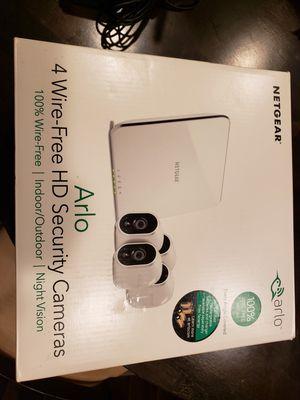 Arlo Netgear 4 Wire-Free HD Security for Sale in Carrollton, TX
