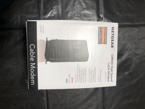 Cable modem CM 500 high ( just upgraded don't need nome) for Sale in Fresno, CA