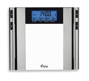 New weight watcher by Conair body analyst digital glass body weight bathroom scale for Sale in Henderson, NV