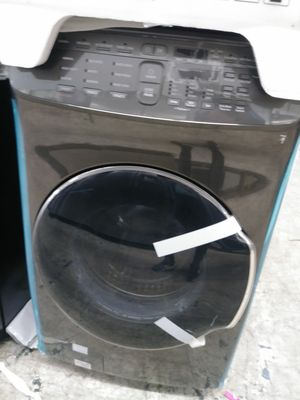 Samsung double washer in dark stainless for Sale in Covina, CA