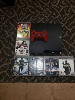 Ps3 with Games for Sale in Detroit, MI