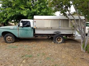 1970 Ford w/ Camper for Sale in Porterville, CA