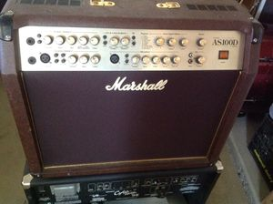 Marshall AS100D Acoustic Guitar Amp.... Call or text 4O8 499 97OI to purchase for Sale in Litchfield Park, AZ