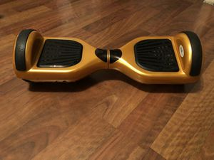 Gold Swagway Turbo Hoverboard for Sale in Lansing, MI