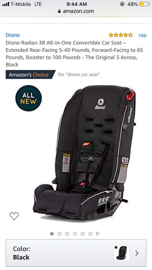 brand new Diono 3 in one car seats OBO for Sale in Philadelphia, PA