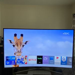 55 INCH SAMSUNG SMART TV 4K CURVE for Sale in Bell Gardens, CA