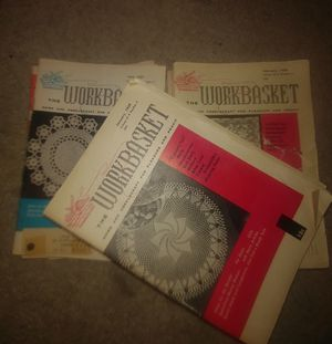 "Needlecraft ""The WORKBASKET"" magazines 1950-1959 issues for Sale in San Antonio, TX"