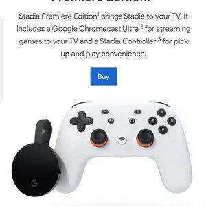 Google Stadia - White - Like New for Sale in San Bernardino, CA