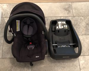Maxi Cosi Mico Infant Car seat for Sale in Stanwood, WA