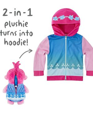 Cubcoats Poppy The Troll - 2-in-1 Transforming Hoodie and Soft Plushie - Pink (NEW) for Sale in Queens, NY