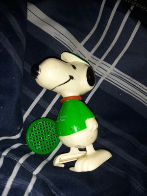 Snoopy playing tennis windup for Sale in Rapid City, SD