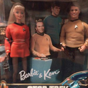 Star Trek Barbie and Ken for Sale in Buffalo, NY
