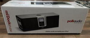 Polk Audio miDock Studio Portable IPod (30 pin) Speaker Dock. for Sale in Livermore, CA