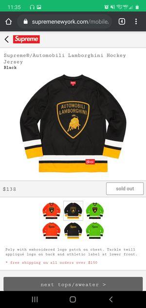 Supreme Lamborghini Jersey for Sale in Woodbridge, VA
