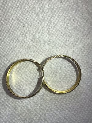 14 kt Earrings. (Argollas) 14kt for Sale in Adelphi, MD