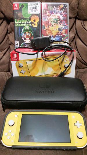 Nintendo Switch Case Luigi Mansion 3 Pokemon Pokken DX for Sale in Pearland, TX