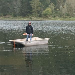 12ft Fiberglass Bass Boat + Motors for Sale in Vancouver, WA