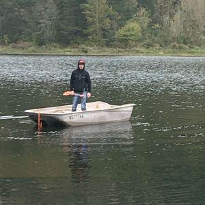 12ft Fiberglass Bass Boat + Motors for Sale in Vancouver, WA
