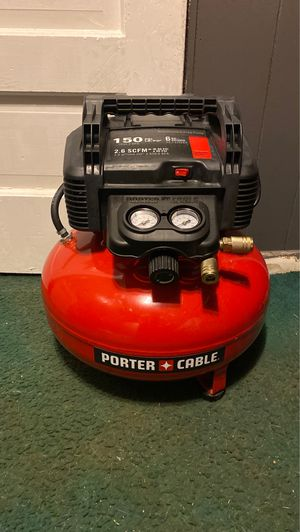Porter cable air compressor for Sale in Fort Washington, MD