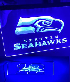 Seahawks Sign, Seahawks Light, Seattle Seahawks LED for Sale in Seattle, WA