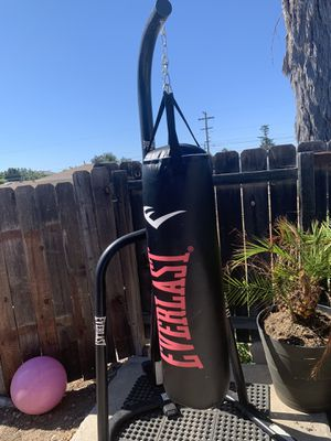 Heavy bag with stand $265 for Sale in San Diego, CA
