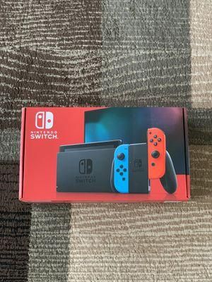 Nintendo - Switch 32GB Console - Neon Red/Neon Blue Joy-Con for Sale in Des Plaines, IL