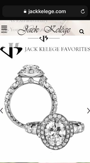 New Diamond Engagement Ring Total 3.15 Carats for Sale in Laguna Beach, CA
