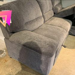 Yantis Gray Sleeper Sectional with Storage / couch /Living room set for Sale in Austin,  TX