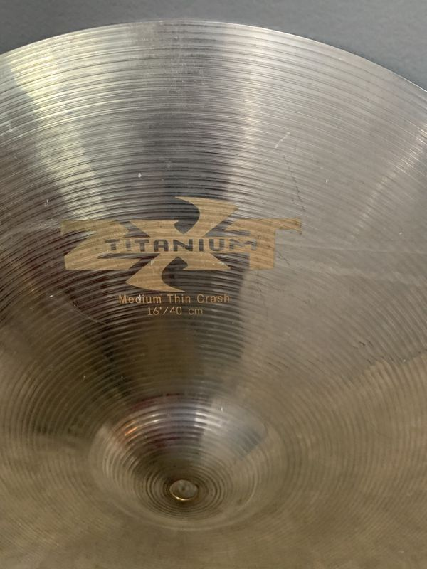 Zildjian Titanium ZXT 16in medium crash
